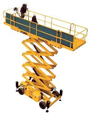 Alquilar plataforma tijera diésel HA18SXL