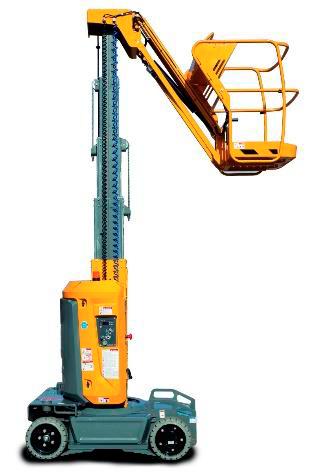alquilar plataforma mástil vertical Star10