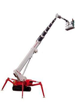 alquilar plataforma araña sobre orugas TSJ30