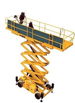 alquilar plataforma elevadora tijera diesel Compact H55SXL