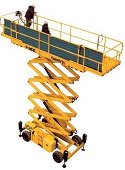 alquilar plataforma elevadora tijera diesel Compact H18SXL