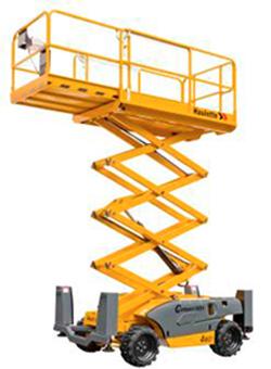 alquilar plataforma elevadora tijera diesel Compact 12DX