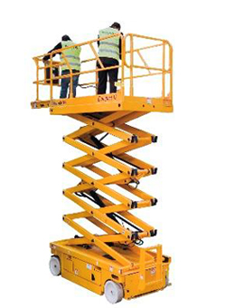 alquilsr plataforma elevadora tijera electrica compact 10
