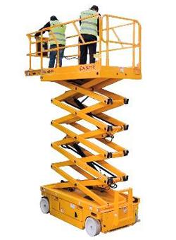 alquiler plataforma elevadora tijera electrica compact 14