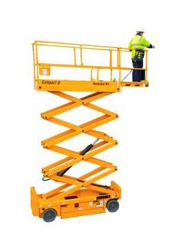 alquilar plataforma elevadora tijera electrica compact 10 N