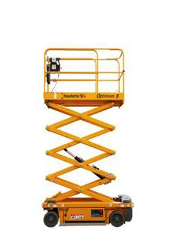 alquilar plataforma elevadora tijera electrica optimun 6