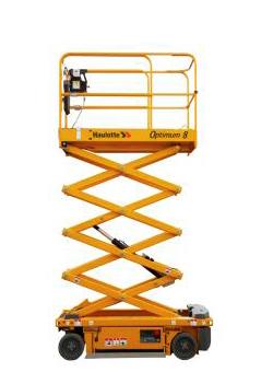 alquilar plataforma elevadora tijera eléctrica optimun 8